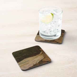 Luxury by John Atkinson Grimshaw Drink Coaster
