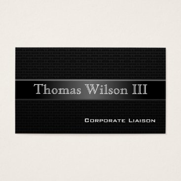 Aztec Themed Luxury Carbon Fiber Professional Business Cards