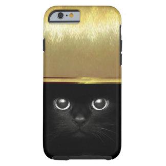 Luxury Cat Eyes iPhone 6 Gold Shell Case