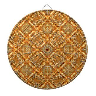 Luxury Check Ornate Seamless Pattern Dart Board