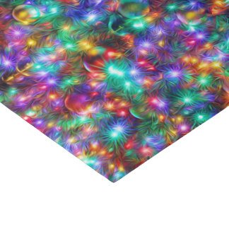 "Luxury Christmas Sparkling Stars 10"" X 15"" Tissue Paper"