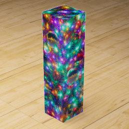 Luxury Christmas Sparkling Stars Wine Gift Box