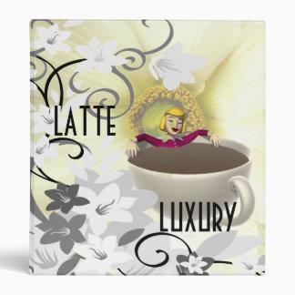 Luxury Coffee Latte Binder Coffee Lovers Delight