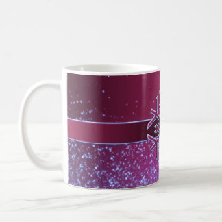 Luxury Cool Christmas Snowflake Mug