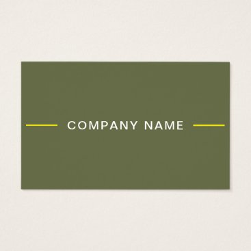 Luxury Creative Modern Design Professional Plain Business Card
