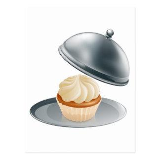 Luxury cupcake postcards