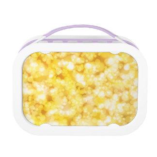 Luxury Diamond Gold Lunch Box