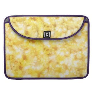 Luxury Diamond Gold Sleeve For MacBook Pro
