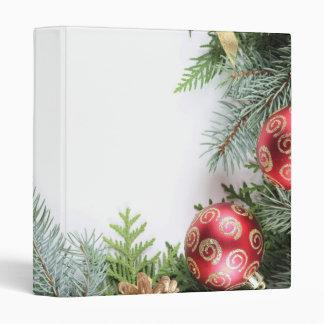Luxury Elegant Christmas Winter Binder
