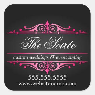 Luxury Event Planner Square Sticker