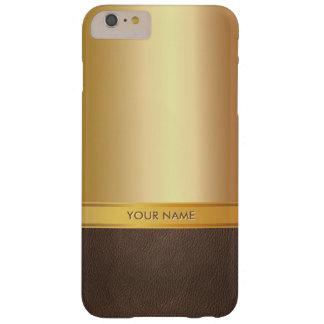 Luxury Foil Gold Custom Name iPhone 6 Plus Case