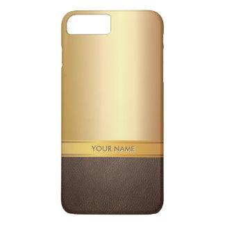 Luxury Foil Gold Custom Name iPhone 7 Plus Case