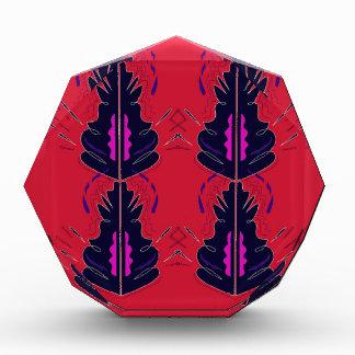 Luxury folk arabic Ornaments RED Award