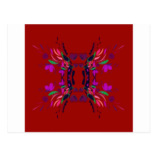 Luxury Folk mexico ethno design Postcard
