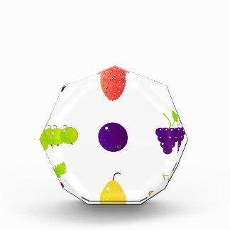Luxury fruit design edition acrylic award
