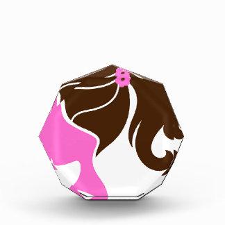 Luxury girls portrait pink brown award