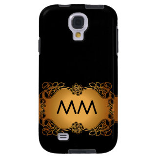 Luxury Glamour Initials Samsung Galaxy S4 Case