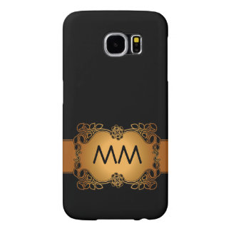 Luxury Glamour Initials Samsung Galaxy S6 Cases