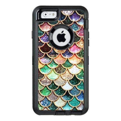 Luxury Glitter Mermaid Scales - Multicolor Phone Case
