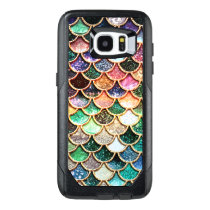 Luxury Glitter Mermaid Scales - Multicolor OtterBox Samsung Galaxy S7 Edge Case