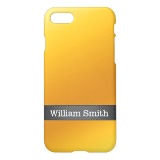 Luxury gold and carbon business iPhone 7 case