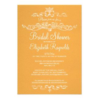 Luxury Gold Bridal Shower Invitations Custom Invitation