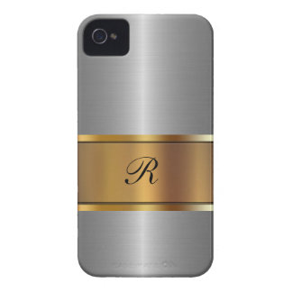 Luxury Gold Business iPhone 4 Case