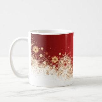 Luxury  Gold Christmas Lace Mug