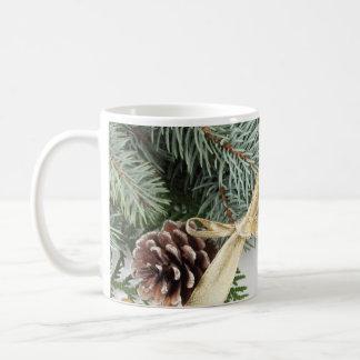 Luxury Gold Christmas Winter Mug