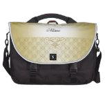 Luxury Gold Damask Swirls Laptop Bag Bags For Laptop