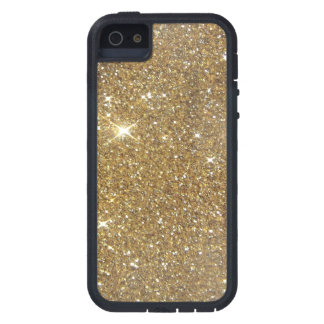 Luxury Gold Glitter - Printed Image iPhone SE/5/5s Case
