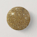 "Luxury Gold Glitter - Printed Image Pinback Button<br><div class=""desc"">This is a pretty bokeh kind of printed pic of stunning,  gorgeous golden glitter. Straight forward,  yet truly lovely! Don&#39;t pass up on the opportunity to bring in a taste of polish combined with beauty into your lifestyle!