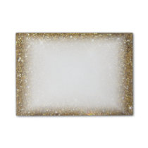 Luxury Gold Glitter - Printed Image Post-it Notes