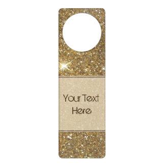 Luxury Gold Glitter Sparkle Door Hangers