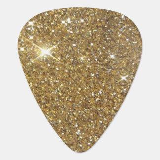 Luxury Gold Glitter Sparkle Pick
