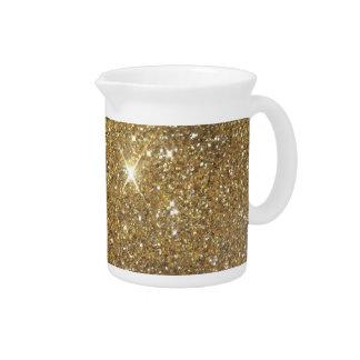 Luxury Gold Glitter Sparkle Drink Pitchers