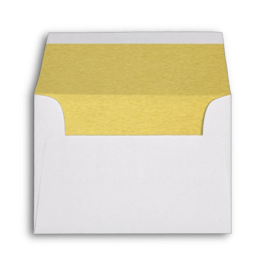 Luxury Gold Lined Envelope Wedding Invitation