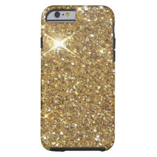 Luxury Gold Sparkling Glitter Tough iPhone 6 Case