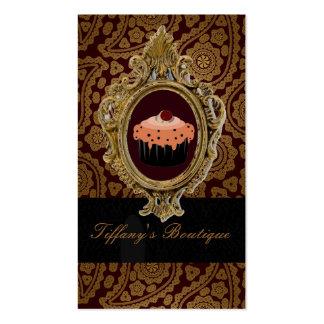 Luxury Gold vintage boutique business cards
