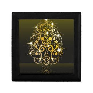 Luxury,golden egg keepsake box