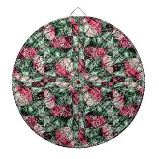 Luxury Grunge Digital Pattern Dartboard