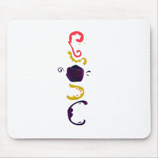 Luxury handdrawn Embroidered Folk edition Mouse Pad