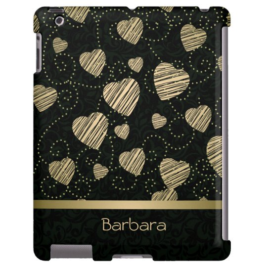 Luxury Hearts iPad Case