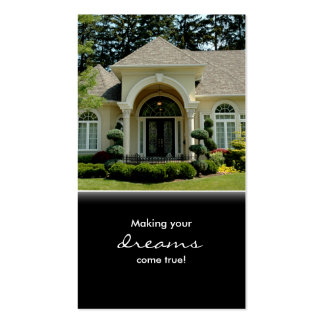 Luxury Home Entrance Real Estate Business Card
