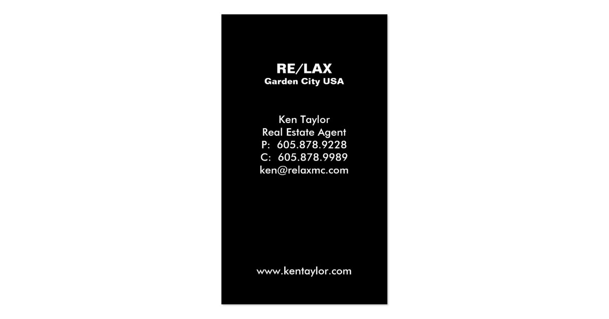 Luxury Home Entrance Real Estate Business Card : Zazzle