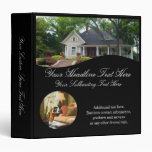 Luxury Home Real Estate Agent Listing Binder