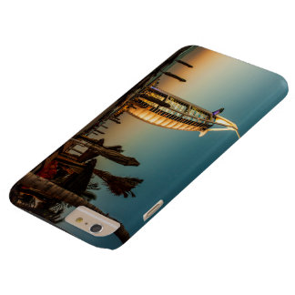 Luxury hotel on an ocean barely there iPhone 6 plus case
