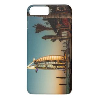 Luxury hotel on an ocean iPhone 7 plus case