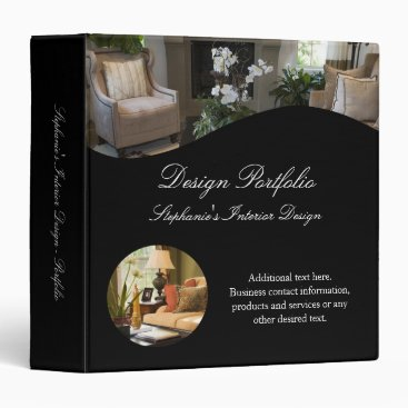 Luxury Interior Design Portfolio Binder