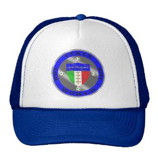 Luxury Italian Soccer world champions logo Hats